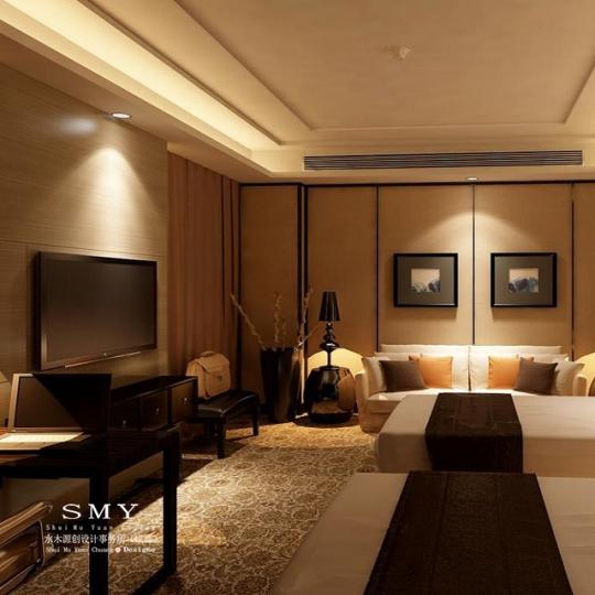 乐山特英伯雷酒店设计案例分享—水木源创