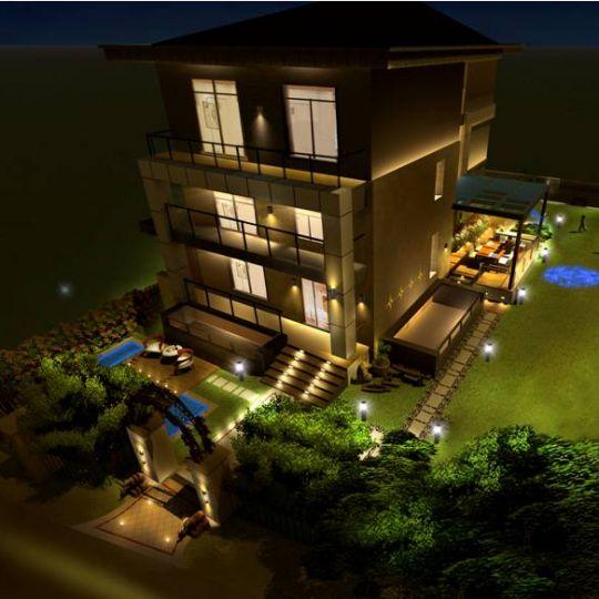 L&HP照明设计 南京富荟山别墅室外照明设计案例