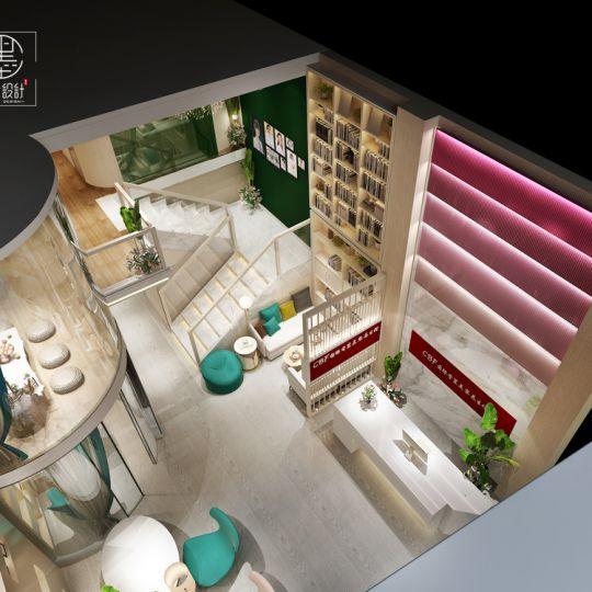 西安美容养生馆设计——CBF国际香薰美容养生馆