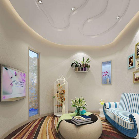 西安美容院设计公司——盛世美容院