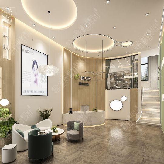 西安皮肤管理中心设计——ING皮肤科技馆
