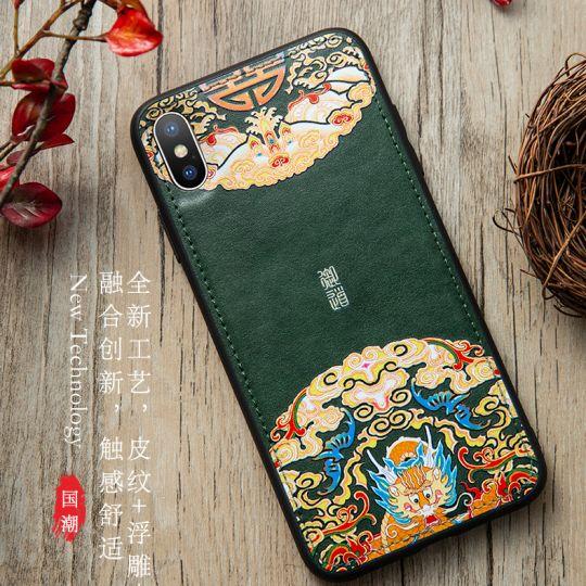 中国风 国潮手机壳详情页