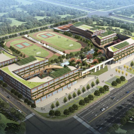 山东中小学校设计