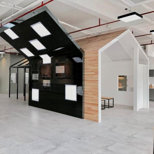 上海青年公寓展示厅