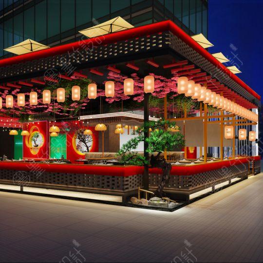 兰桂坊MOK餐吧设计 | 成都餐吧餐厅设计公司