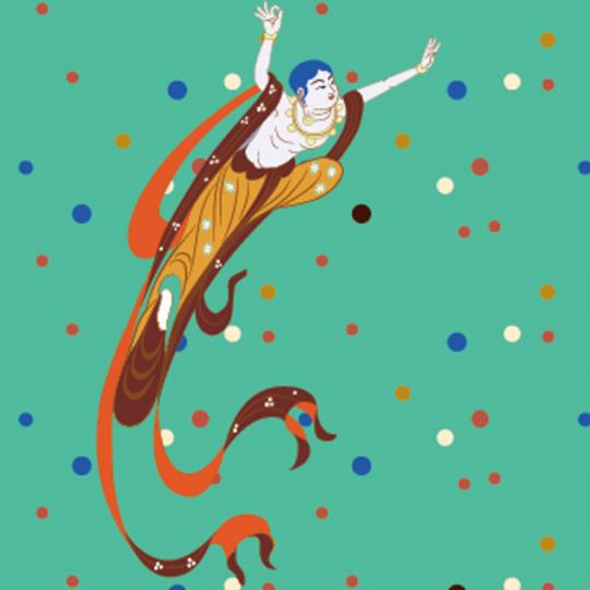 洛可可·敦煌飞天系列旅游文化礼品