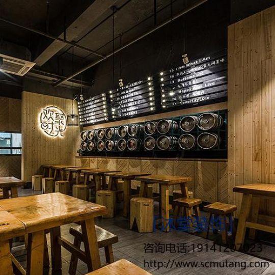 成都中餐厅设计-沐堂装饰