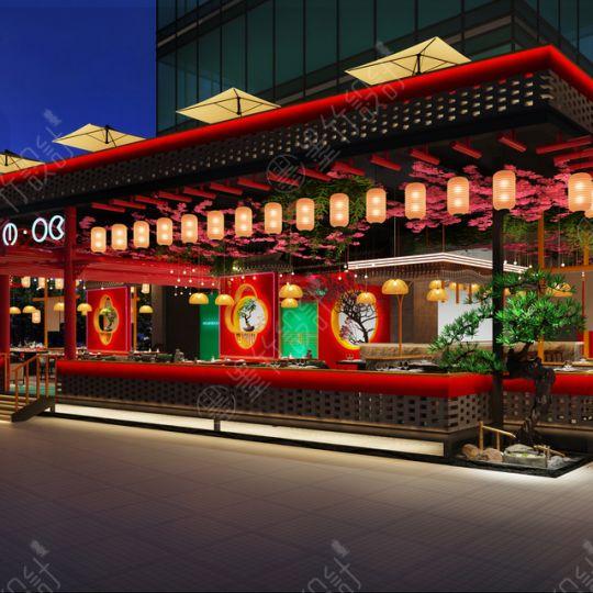 成都餐厅设计公司 【兰桂坊MOK餐吧设计