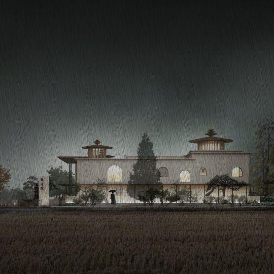 《三界梵钟》——江苏扬州观音院(原名谢家庵)建筑、室内及景观设计