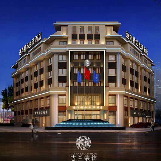 上海迪尚精品生活酒店-上海酒店设计